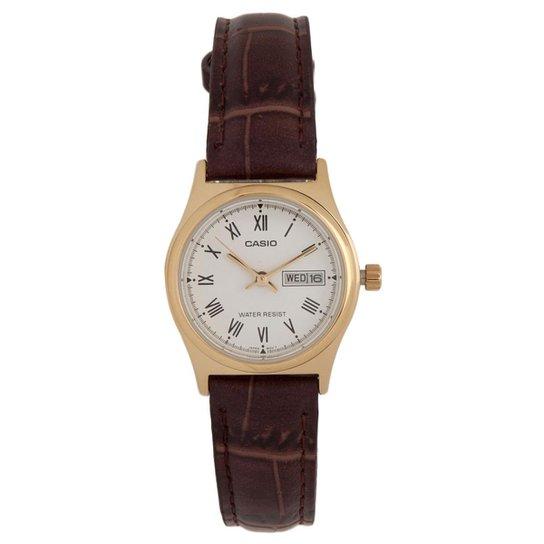 f793a0289d9 Relógio Feminino Casio Analógico Ltp-V006gl7budf - Compre Agora ...