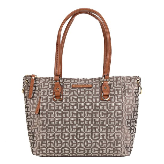 5dcc24340 Bolsa Tommy Shopper Monograma Feminina - Compre Agora | Zattini