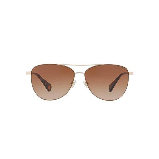 b21eefc8c52c2 Óculos de Sol Ray-Ban Quadrado RA4122 Masculino - Marrom - Compre ...