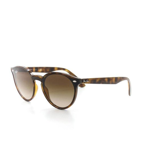 1a525c78cbb5c Óculos De Sol Ray Ban 4380-N T 37 C 710 13 Retrô Feminino - Marrom ...