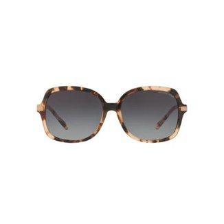 834e1a2d00910 Óculos de Sol Michael Kors Quadrado MK2024 Adrianna II Feminino