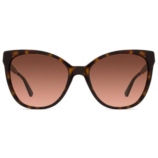 9571a6aa2 Óculos de Sol Michael Kors Napa MK Feminino - Marrom - Compre Agora ...