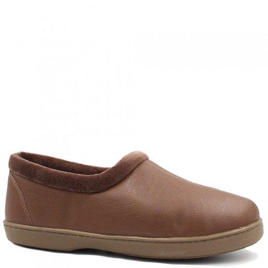 5d7e9b941 Pantufa Kature Sapato Pelo Feminina - Marrom - Compre Agora