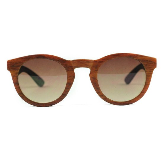563c2cf95 Óculos de Sol Wood Caju Brasil - Marrom | Zattini