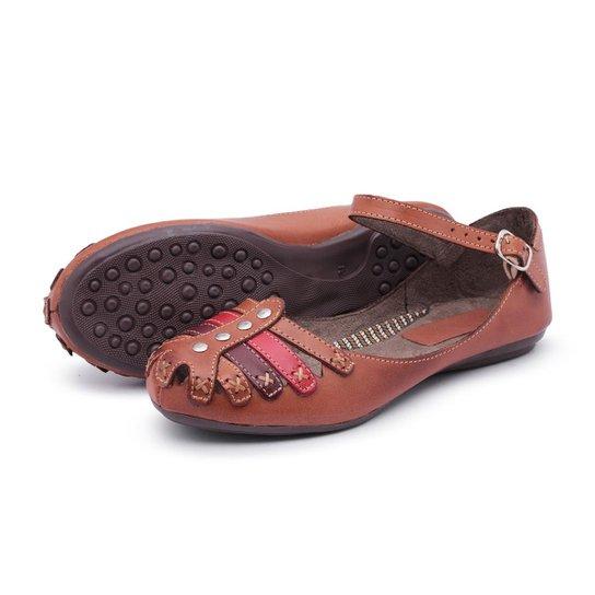 c385917b20 Sapatilha Feminina Top Franca Shoes - Marrom