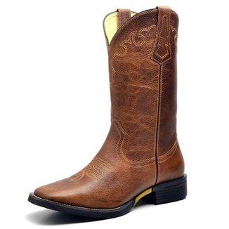 Bota Couro Country Texana Top Franca Shoes Masculino a024f9b2e08