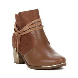 fddeaddbd4 Bota Feminina Comfortflex Ankle Boot Preto