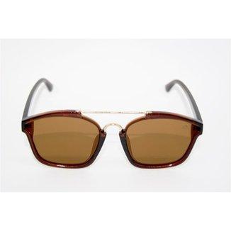 48b24205090b0 Óculos de Sol Quadrado Fashion Cayo Blanco