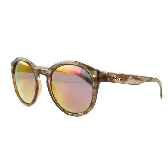 e082705c11 Óculos Secret De Sol Wannabe - Marrom - Compre Agora