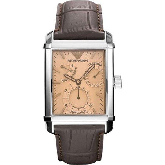 8912cf7c64b Relógio Emporio Armani Masculino Marrom - HAR4236 N HAR4236 N - Marrom