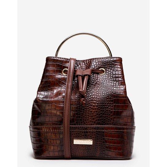 Bolsa Amaro Saco Alça Metal - Compre Agora  f5372de43ce83