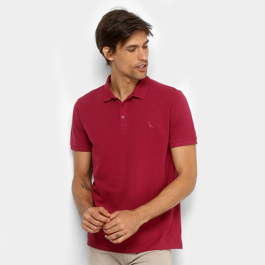 Camisa Polo Mescla Reserva Manga Curta Masculina - Pink - Compre ... 30e78f5626d25