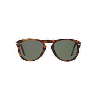 ad012dc52fa54 Óculos de Sol Persol Piloto PO0714 Dobrável Masculino