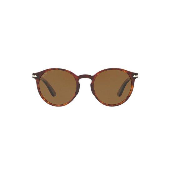Óculos de Sol Persol Redondo PO3171S Masculino - Compre Agora   Zattini 75a715dd47