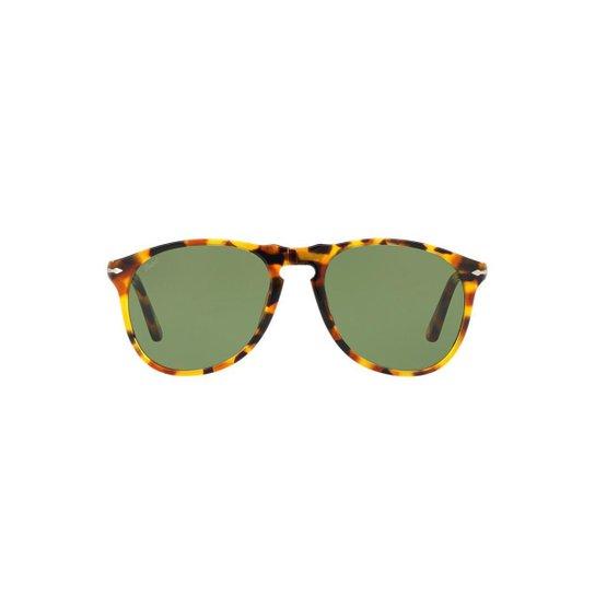 Óculos de Sol Persol Piloto PO9649S Masculino - Compre Agora   Zattini 683a620841