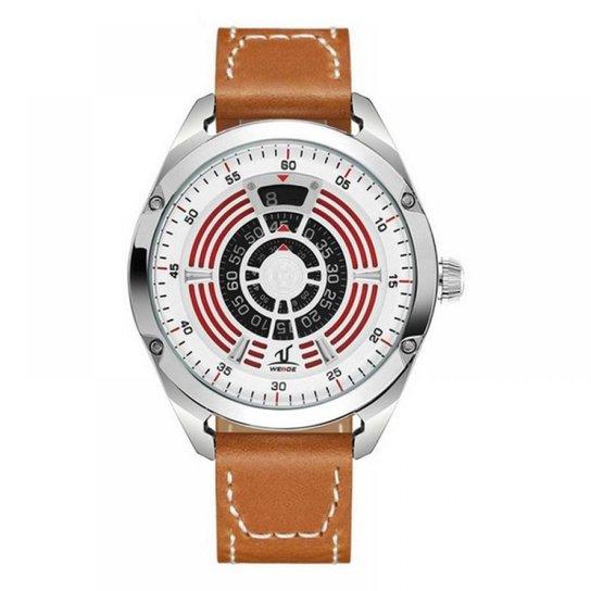 Relógio Weide Analógico UV-1701 - Marrom - Compre Agora  ce2986f893ae8