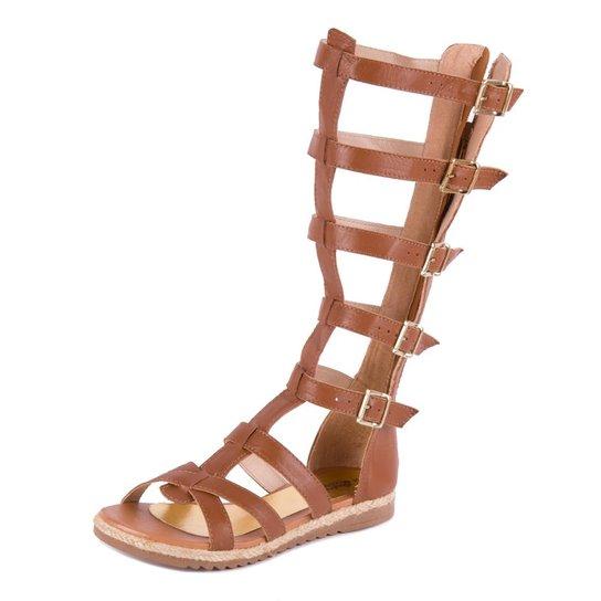 e9485cd4d Sandalias gladiadoras de salto e cano alto 2 Shoes Shoes Shoes