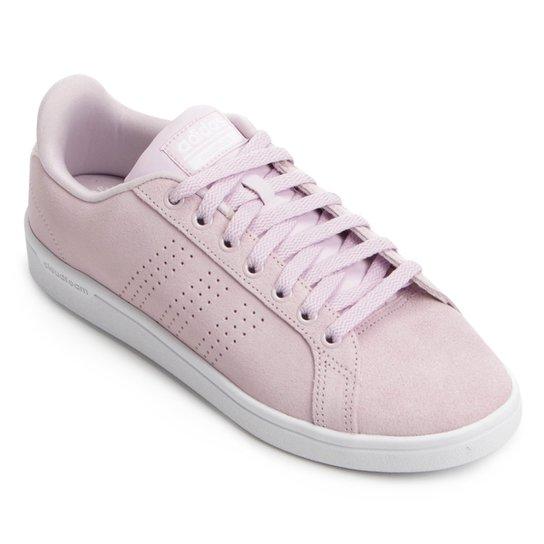 6c5afd09035 Tênis Adidas Cf Advantage Clean Feminino - Pink - Compre Agora