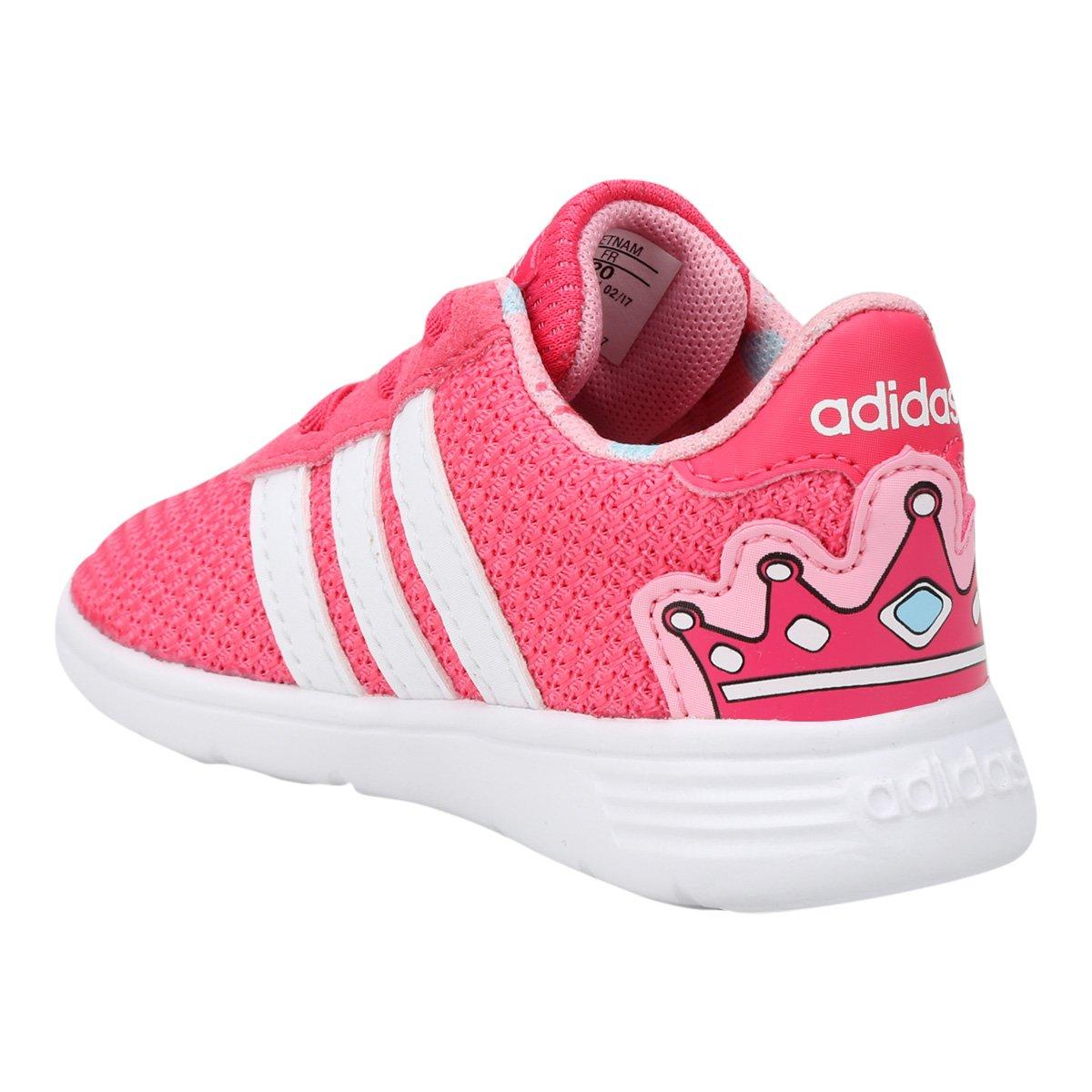 76e4799af9697 Tênis Infantil Adidas Lite Racer Feminino | Livelo -Sua Vida com Mais  Recompensas