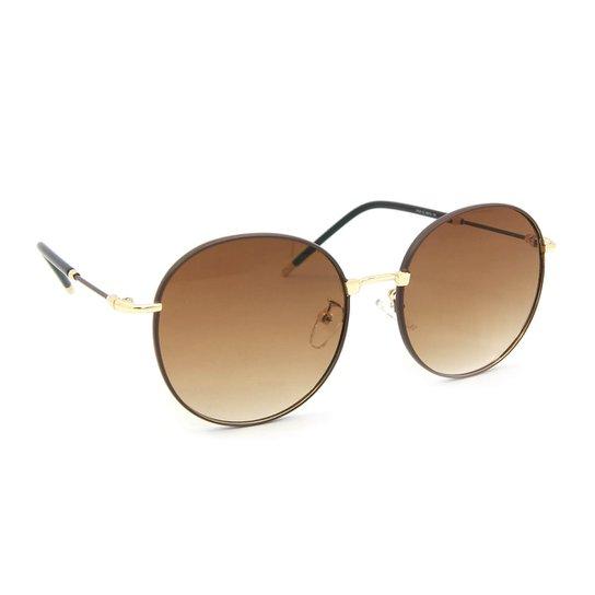 Óculos de Sol Classic Redondo - Compre Agora   Zattini e6b4cf76d2