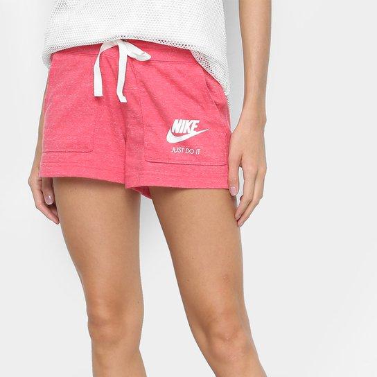 152a1eb4eee Short Nike Gym Vintage Feminino - Vermelho - Compre Agora