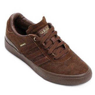 1f35e6fe915 Tênis Adidas Masculino Marrom