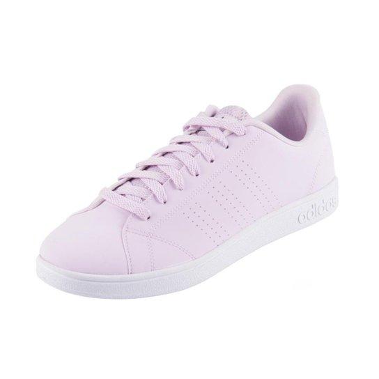 ce0e5d91a Tênis Adidas Vs Advantage Clean Feminino - Rosa Claro | Zattini