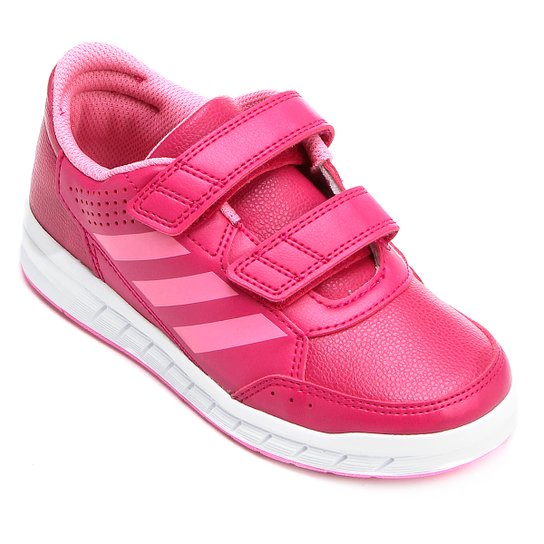 0e4f02b7794 Tênis Infantil Adidas Altasport Cf K Velcro - Pink - Compre Agora ...