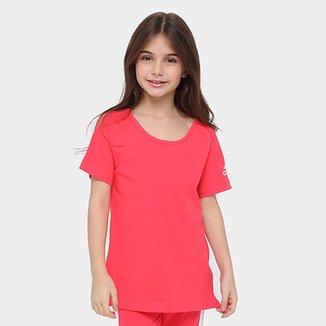 fbd0d47e70 Camisetas para Meninas Adidas - Ótimos Preços