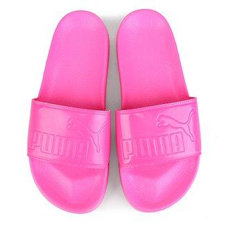 7be7528b55 Chinelo Slide Puma Leadcat Patent Feminino