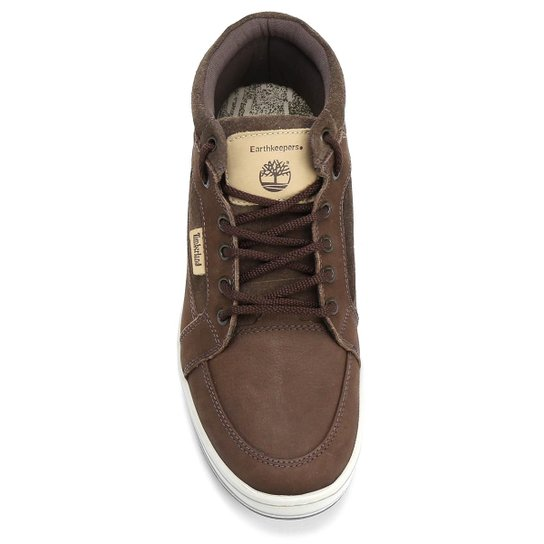 Sapatênis Timberland Ek Packer Leather Chukka M Os - Marrom - Compre ... 04166a7340a