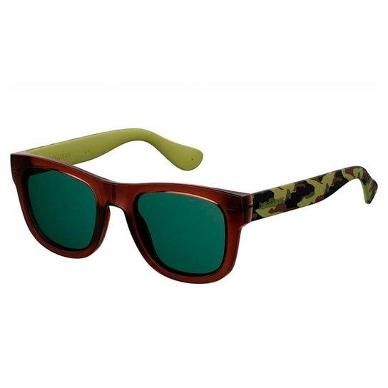 a3c6c5eac19f1 Óculos de Sol Havaianas Paraty Masculino - Marrom - Compre Agora ...