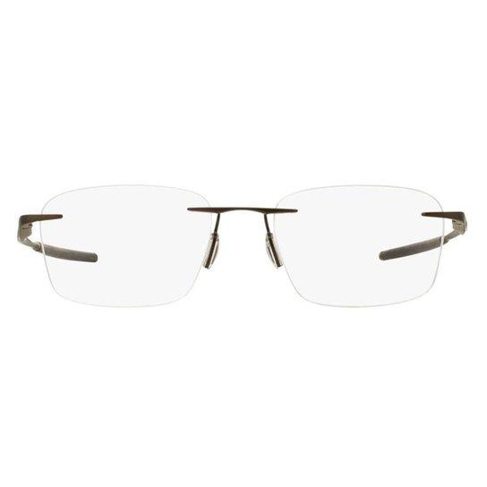 5462d03ac Armação Óculos de Grau Oakley Frame Wingfold Evs OX5115 511501/53 - Marrom