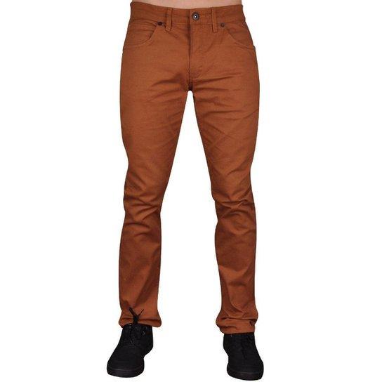 757b038e8 Calça Oakley 5 Pockets Masculino - Marrom   Zattini