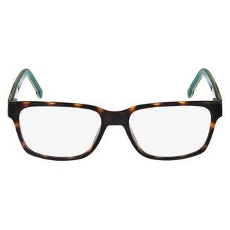 b0a3b9ba08d1b Armação Óculos de Grau Lacoste L2692 214 54