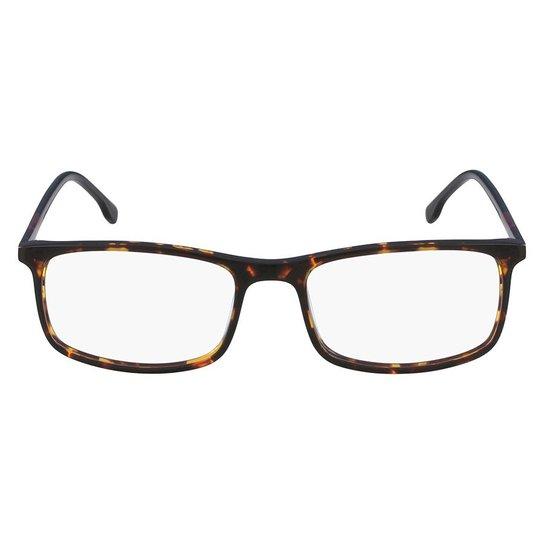 91ccd57736ec2 Armação Óculos de Grau Lacoste L2808 220 55 - Marrom - Compre Agora ...