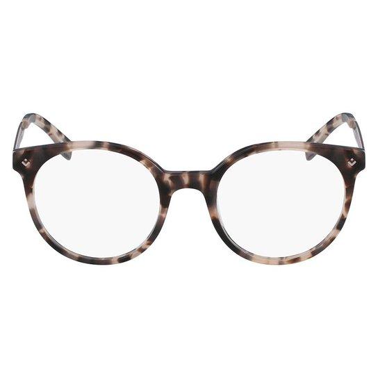 8565faf08849a Armação Óculos de Grau Lacoste L2806 219 50 - Marrom - Compre Agora ...