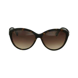 db25677db61e0 Óculos Sol Euro Lisboa Oceu B Feminino · Confira · Óculos de Sol Calvin  Klein Gatinho Marrom