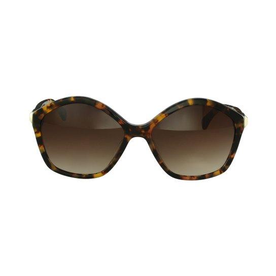 Óculos de Sol Calvin Klein Fashion Marrom - Compre Agora   Zattini 7422d3a703