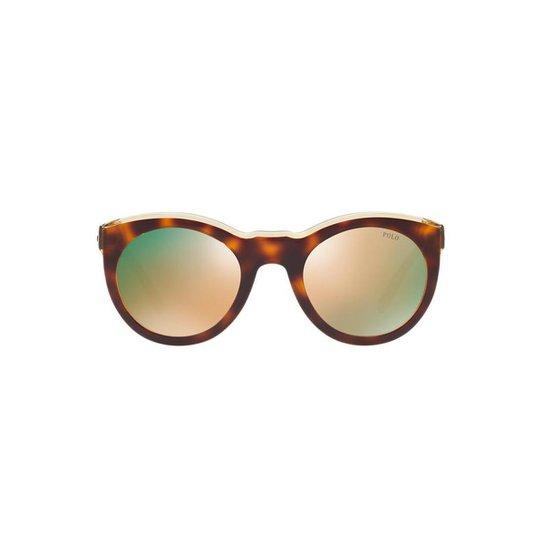 5145d38fe5a Óculos de Sol Polo Ralph Lauren Redondo PH4124 Feminino - Compre ...