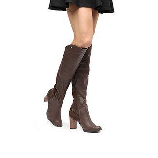 84c7ad591f Bota Over the Knee Mississipi Cano Longo Metais Feminina
