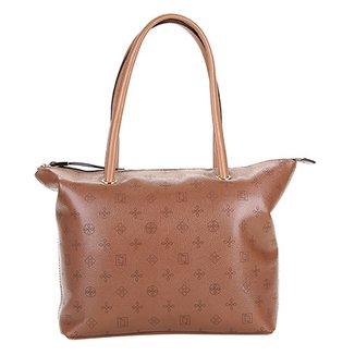 Bolsa Couro Luz da Lua Shopper Monograma Feminina 6a6a03cdd4