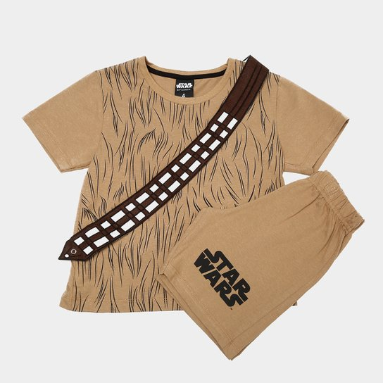 e5f76292ccb5b Pijama Infantil Lupo Curto Star Wars Chewbacca Masculino - Compre ...