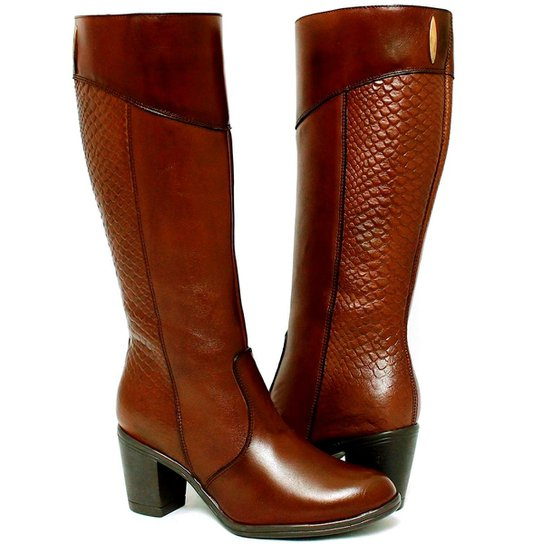 b1524db4d Bota Montaria Art Shoes Cano Alto Feminina | Zattini