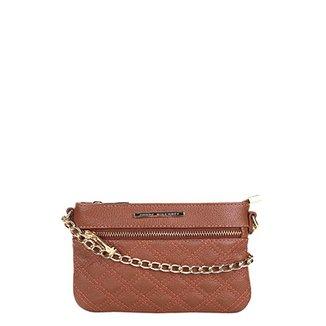 ddf6a220a Bolsa Couro Jorge Bischoff Mini Bag Basic Feminina