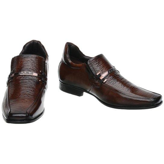 Sapato Rafarillo Linha Alth Você + Alto 7cm 3227 Mogno - Compre ... 4f902afcb6