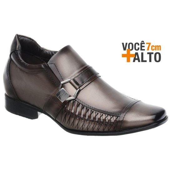 c384884661 Sapato Social Couro Rafarillo Masculino - Marrom - Compre Agora ...