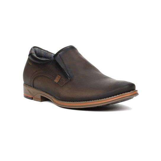 cc93c2575 Sapato Casual Masculino Pegada Marrom - Compre Agora