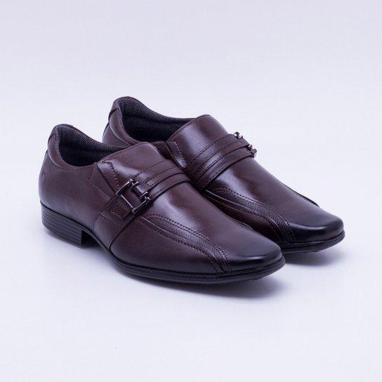 c6546e3204e84 Sapato Social Couro Pegada Fivela Masculino - Compre Agora   Zattini
