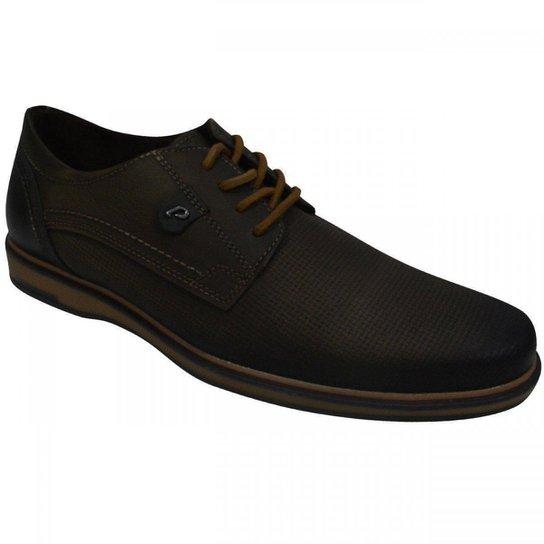 db5f6a1b0 Sapato Pegada Masculino - Marrom - Compre Agora